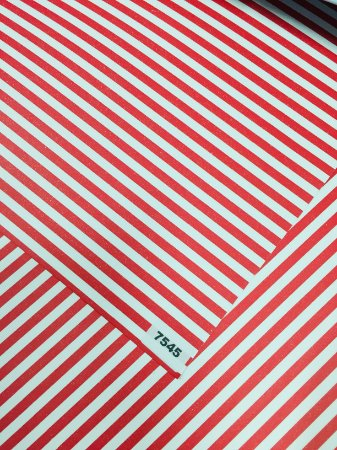 Papel Dupla Face Vermelho/Listra VMP 48X66cm
