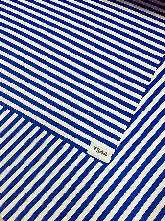 Papel Dupla Face Azul/Listra VMP 48X66cm