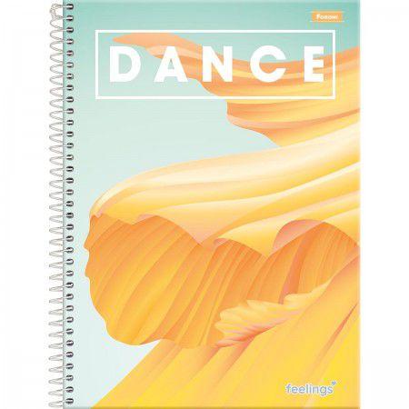 Caderno Foroni 10X1 Feelings Dance 160 folhas