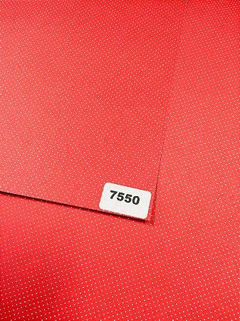 Papel Dupla Face Vermelho/Poa VMP 48X66cm