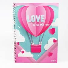Caderno Credeal 10X1 Love Is In The Air 200 folhas