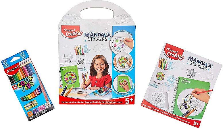 Mandala Stickers Maped Creativ