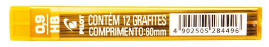 Grafite Pilot 0.9mm HB com 12 unidades