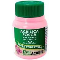 Tinta Acrílica Fosca Acrilex Rosa 37Ml