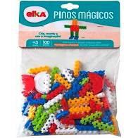 Pinos Mágicos Elka 100 peças
