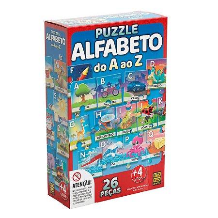 Puzzle Alfabeto Grow 26 peças