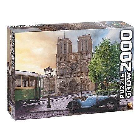 Puzzle Catedral de Notre-Dame Grow 2000 peças
