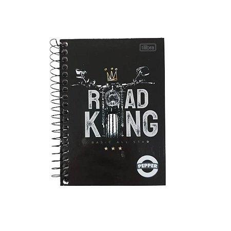 Caderneta Tilibra Pepper Road King 80 folhas