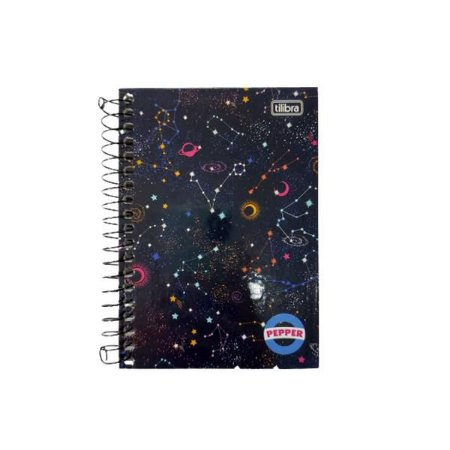 Caderneta Tilibra Pepper Espaço 80 folhas