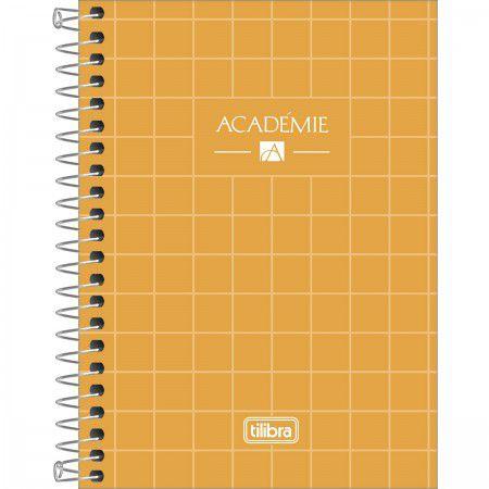 Caderneta Tilibra Acadêmie Amarelo 80 folhas