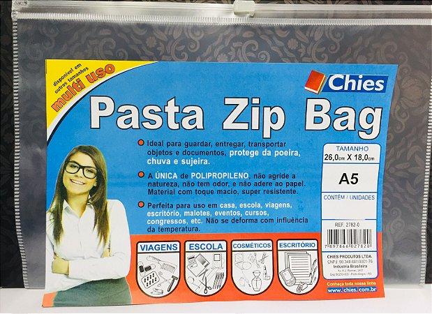Pasta Zìper Chies A5 26X18 cm