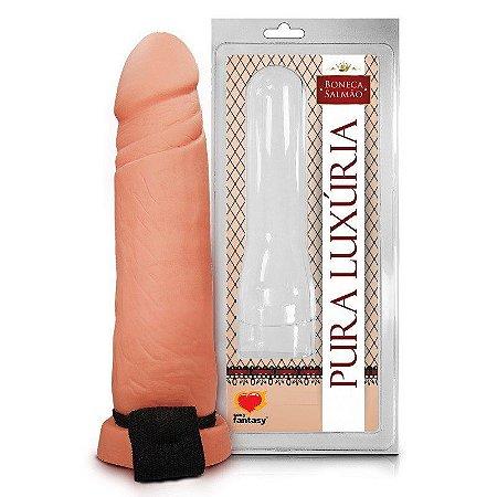 Capa Peniana Realística 18,5 x 4,3 Cm - Sexy Fantasy