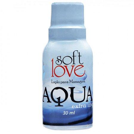 Gel Lubrificante Aqua Extra Luby Siliconado 30ml - Soft Love