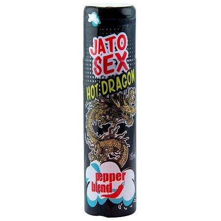 Jato Sex Hot Dragon 18ml Esquenta E Esfria - Pepper Blend