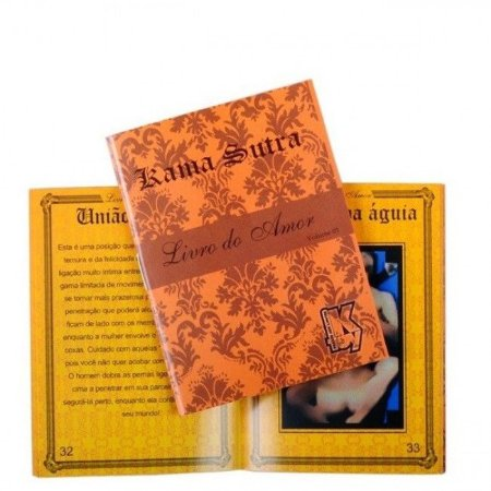 Livro Do Amor Kama Sutra - KGel