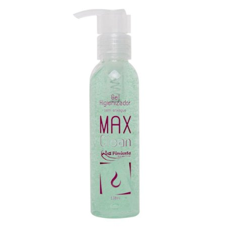 Max Clean Gel Higienizador 120ml - La Pimenta