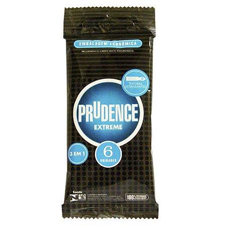 Preservativo Prudence Extreme Com 6 Unidades