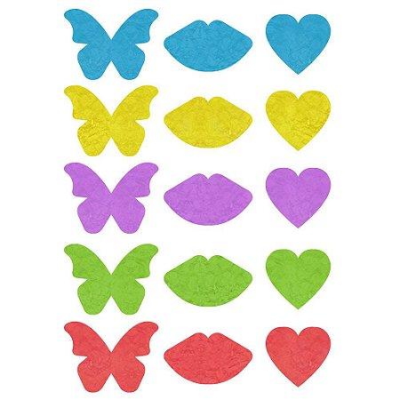 Sticker Adesivos Neon Solúvel Caminho Do Amor - Petitcherry