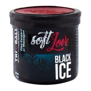 Bolinha Beijável Black Ice 03 Unidades - Soft Love