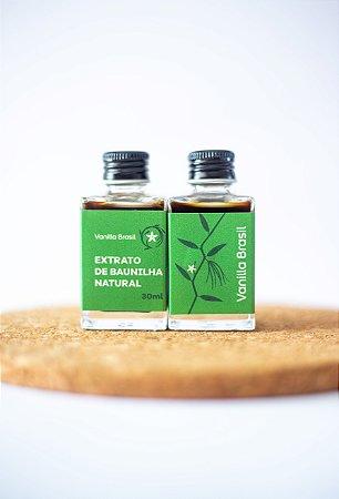 Extrato Natural de Baunilha  - 30ml