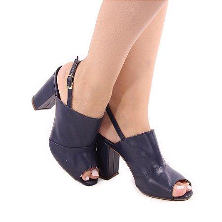 Ankle Boot Azul Marinho