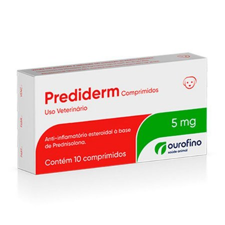 PREDIDERM 5MG - CX