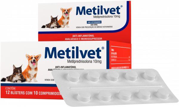 METILVET 10 MG - CARTELA