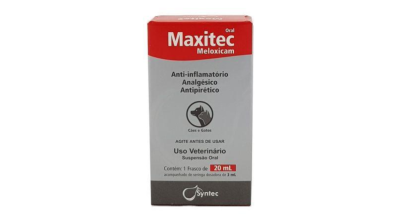 MAXITEC ORAL 20 ML