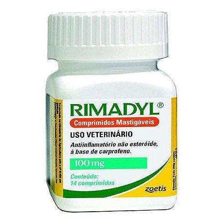 RIMADYL 100 MG 14 COMP