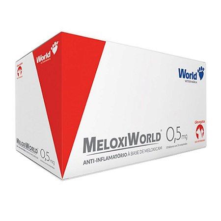 MELOXIWORLD C/10 COMP 0.5MG CARTELA
