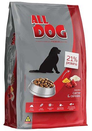 ALL DOG ADULTOS CARNE E CEREAIS 6KG