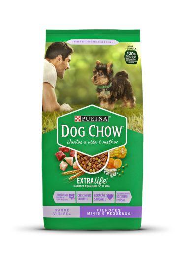 DOG CHOW FILHOTES RAÇAS PEQUENAS 3KG
