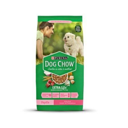 DOG CHOW PAPITA PARA CÃES FILHOTES 15Kg
