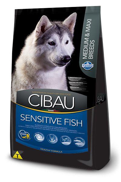 CIBAU SENSITIVE FISH MEDIUM E MAXI BREEDS 12KG