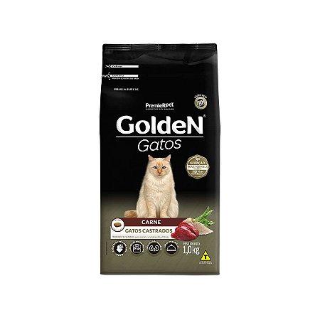 GOLDEN GATOS ADULTOS CASTRADOS CARNE 1KG