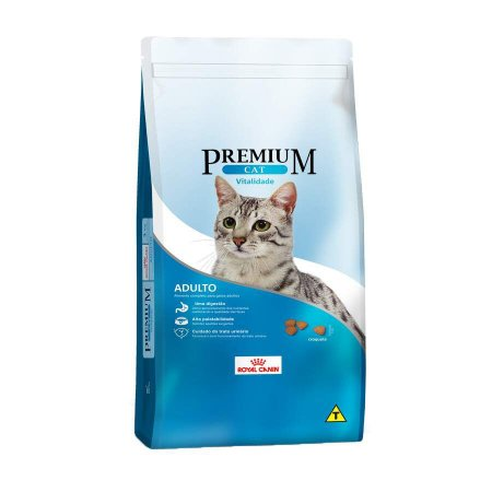 PREMIUM CAT ADULTO VITALIDADE 1KG