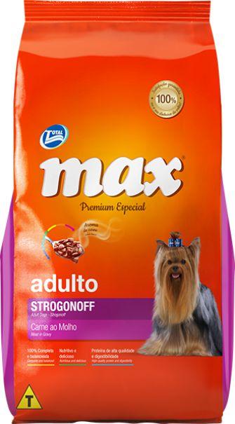 MAX STROGONOFF ADULTO 2KG