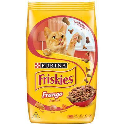 FRISKIES FRANGO PARA GATOS ADULTOS 1KG