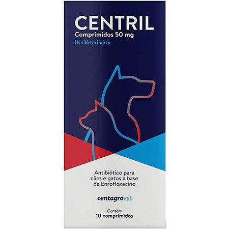 CENTRIL 50MG CARTELA COM 10 COMPRIMIDOS