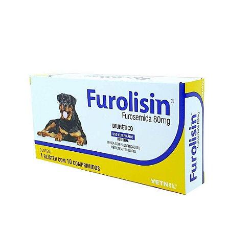 FUROLISIN 80MG 10 COMPRIMIDOS (CX)