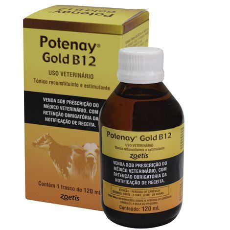 POTENAY GOLD ORAL B12 120ML ZOETIS