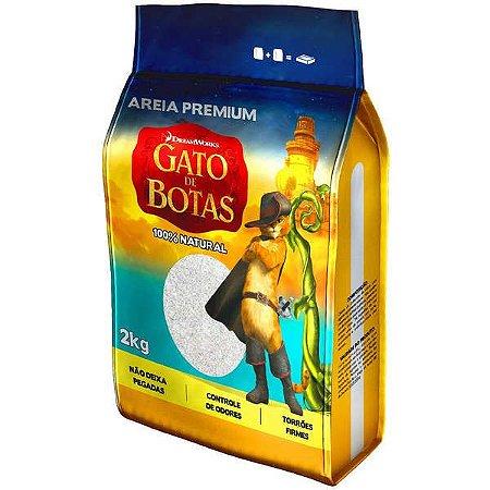 AREIA PREMIUM GATO DE BOTAS 2KG
