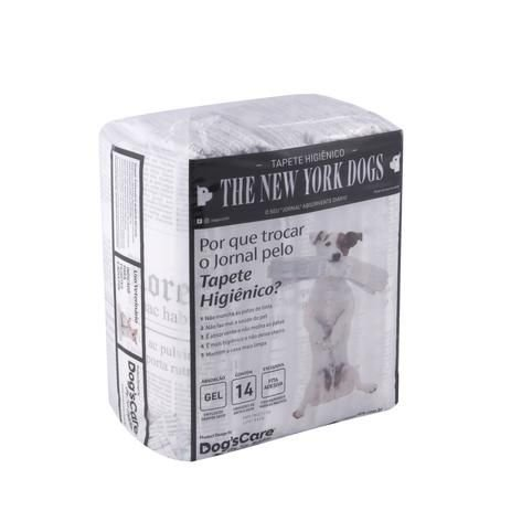 TAPETE HIGIÊNICO THE NEW YORK DOGS 14 UNIDADES