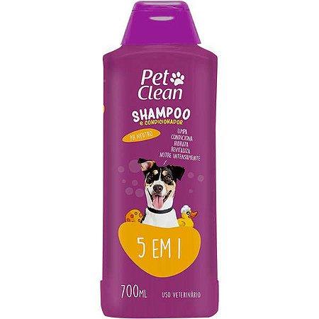 SHAMPOO 5 X 1 PET CLEAN ORBA 700ML UN PET CLEAN