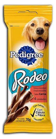 PEDIGREE RODEO CARNE 4 UNIDADES 70GR