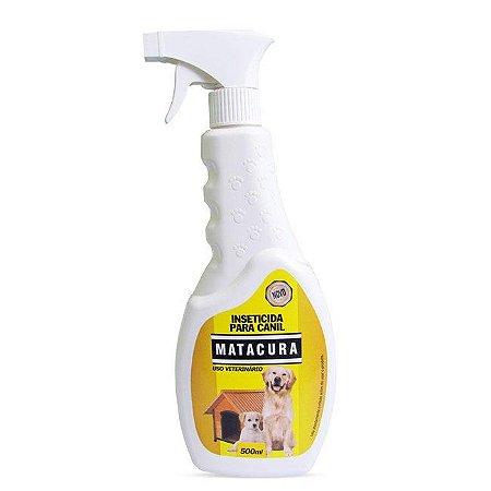 Spray Inseticida para Canil Matacura - 500 ml