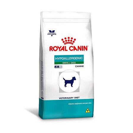 RAÇÃO ROYAL CANIN HYPOALLERGENIC SMALL - 7,5KG