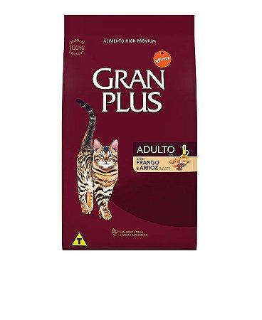 GRAN PLUS GATO ADULTO FRANGO & ARROZ 10.1KG