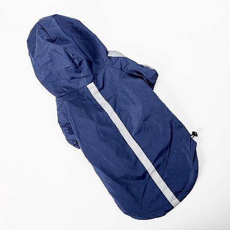Capa De Chuva Elegance Azul - Chalesco