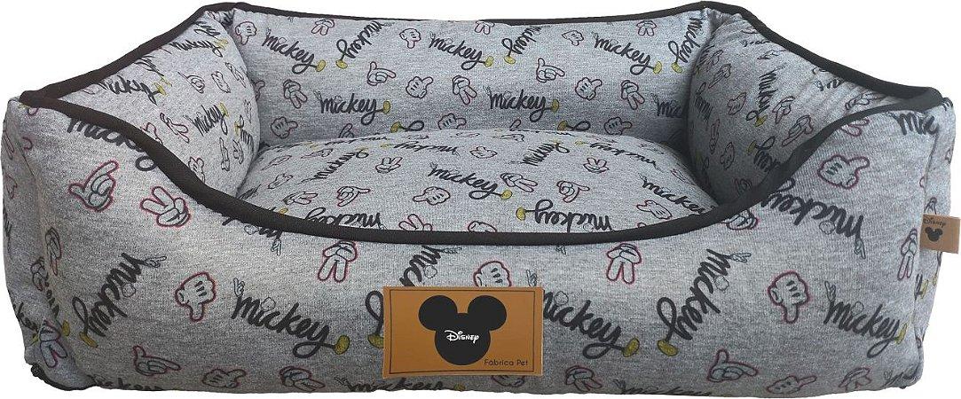 Cama Quadrada Disney Polegar Mickey M - Fabricapet